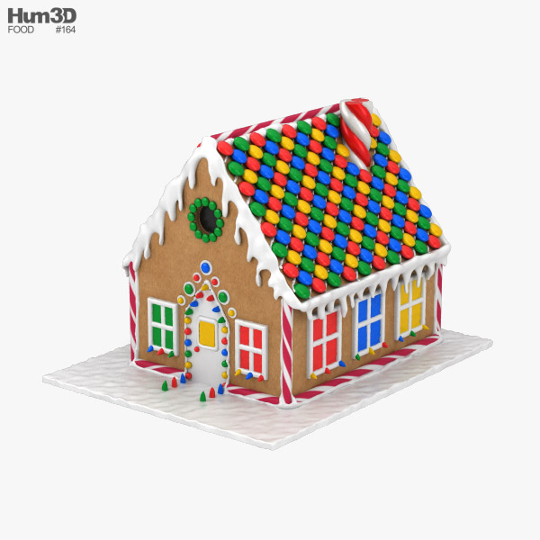 3D model of Gingerbread House
