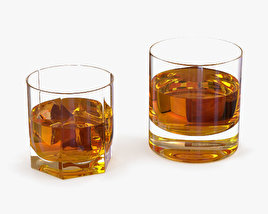 3D model of Whiskey Glasses