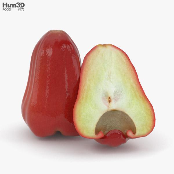 3D model of Rose Apple