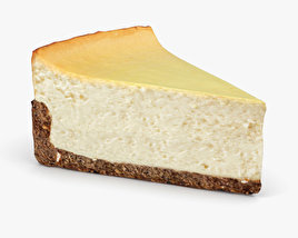 3D model of Cheesecake