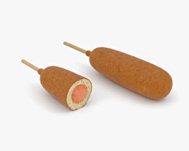3D model of Corn Dog