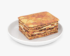 3D model of Lasagne