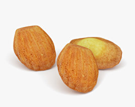 3D model of Madeleines