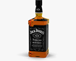 3D model of Jack Daniel's