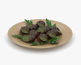 3D model of Escargots