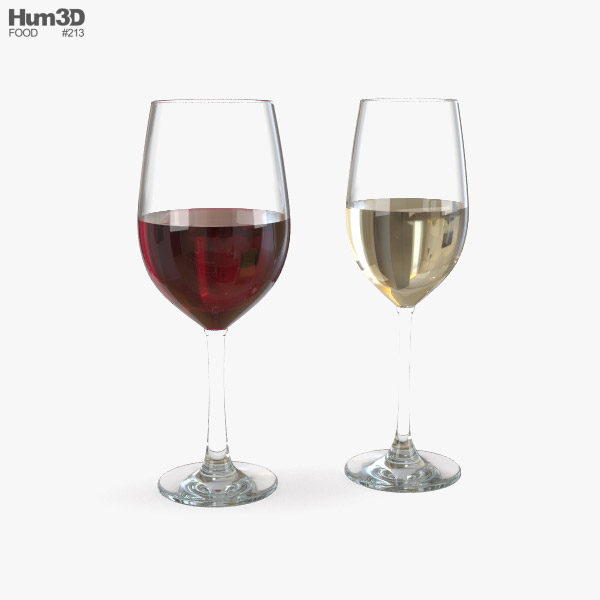 3D model of Wine Glass