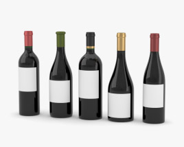 3D model of Wine Bottle