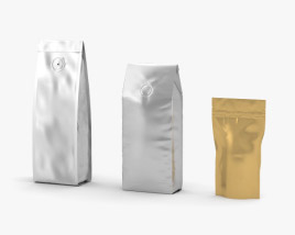 3D model of Coffee Bag