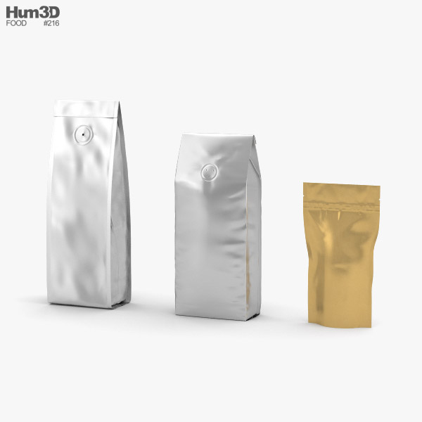 Coffee Bag 3D model