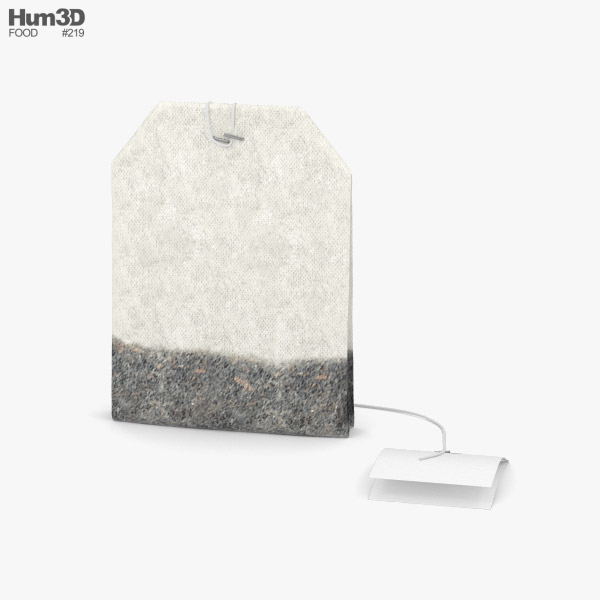 3D model of Tea Bag
