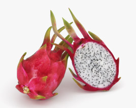 3D model of Dragon Fruit