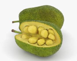 3D model of Jackfruit