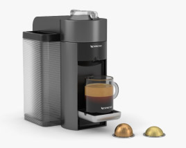 3D model of Nespresso Machine