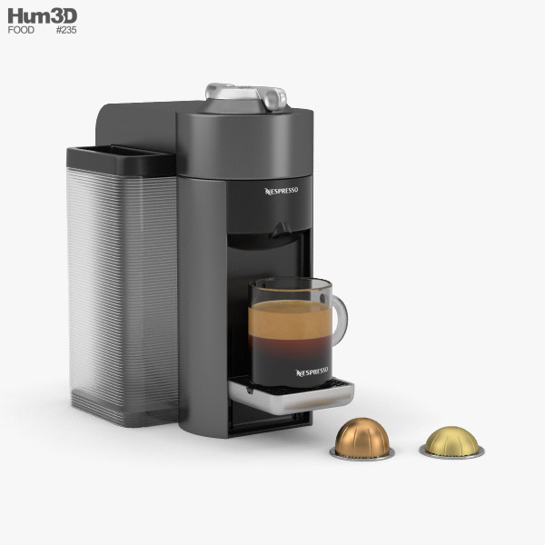 Nespresso Machine 3D model