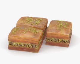 3D model of Baklava