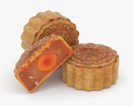 3D model of Mooncake