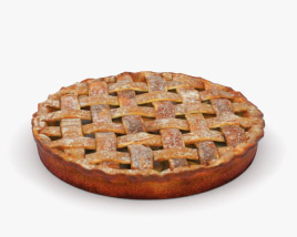 3D model of Apple Pie