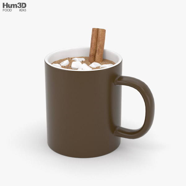 3D model of Hot Chocolate