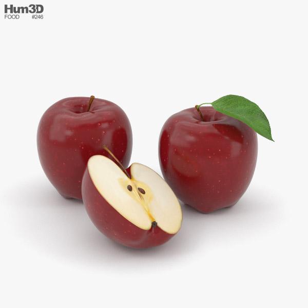 3D model of Red Apple