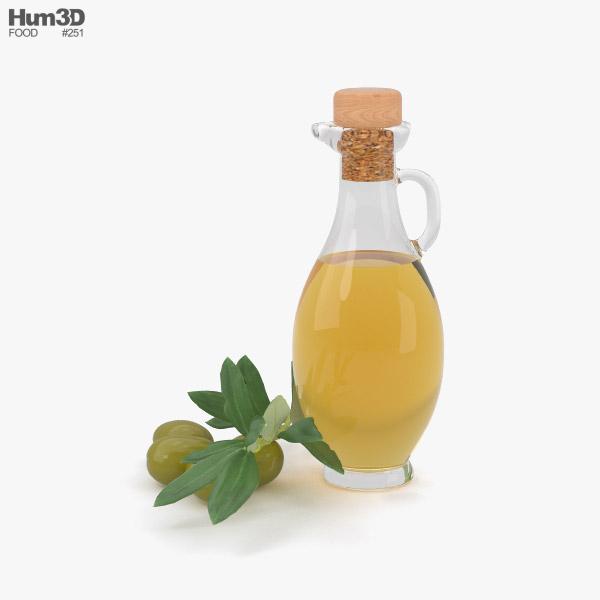 3D model of Olive Oil