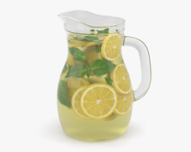 Lemonade Pitcher 3D model