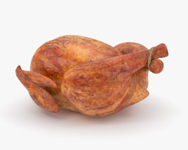 3D model of Roast Chicken