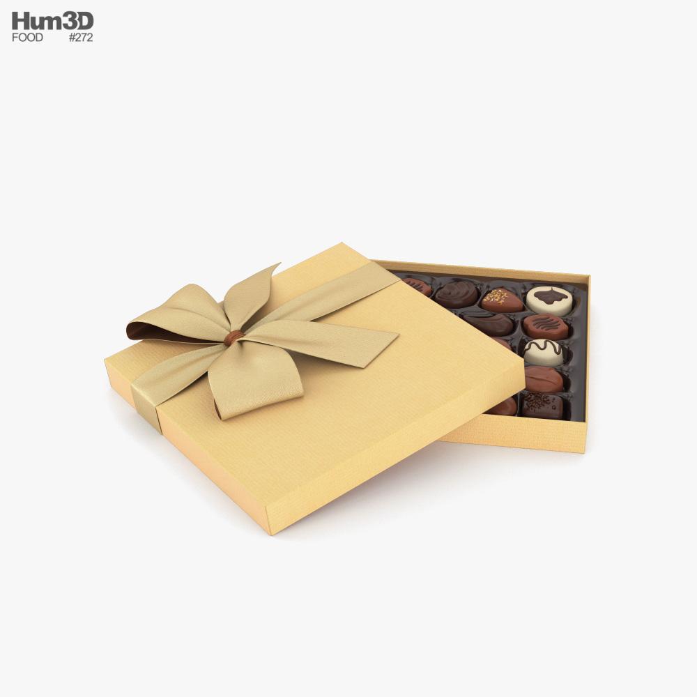 Chocolate Box 3d model