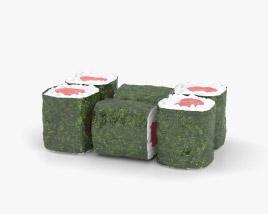 Tekka Maki Sushi 3D model