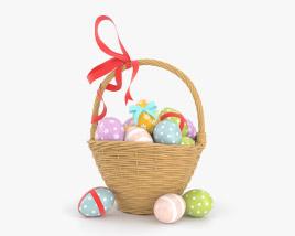 Easter Basket 3D model