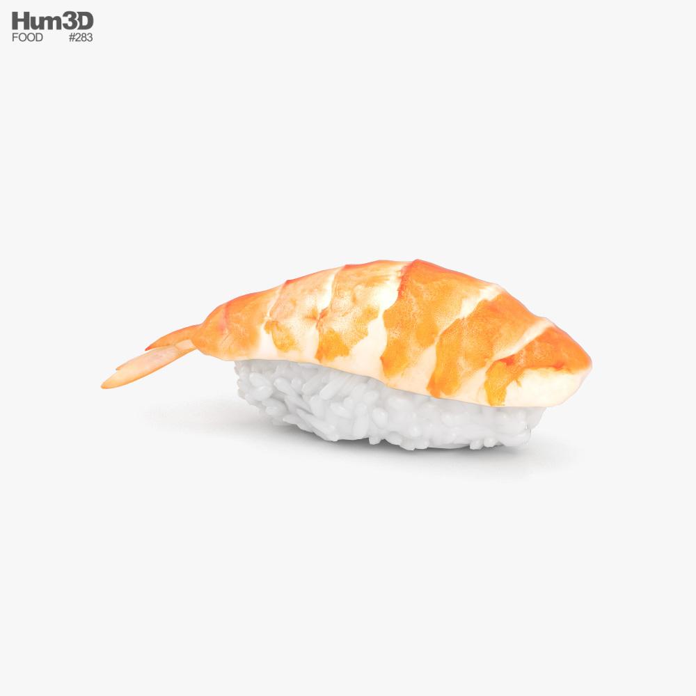 Sushi Ebi Nigiri 3D model