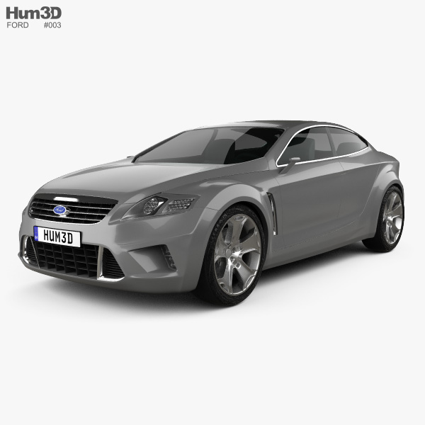 3D model of Ford Iosis concept 2005