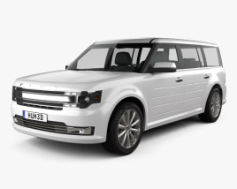 3D model of Ford Flex 2013