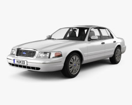 3D model of Ford Crown Victoria 2005