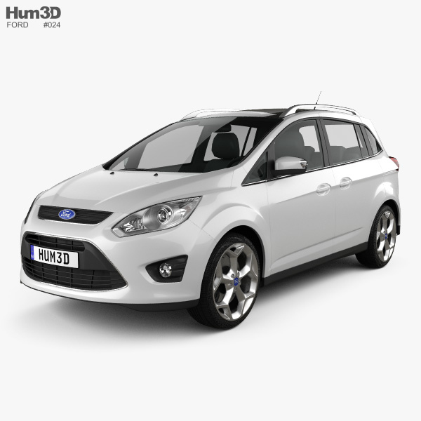 3D model of Ford Grand C-max 2011