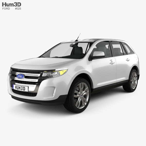 3D model of Ford Edge 2012