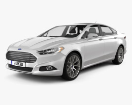 3D model of Ford Fusion (Mondeo) 2013