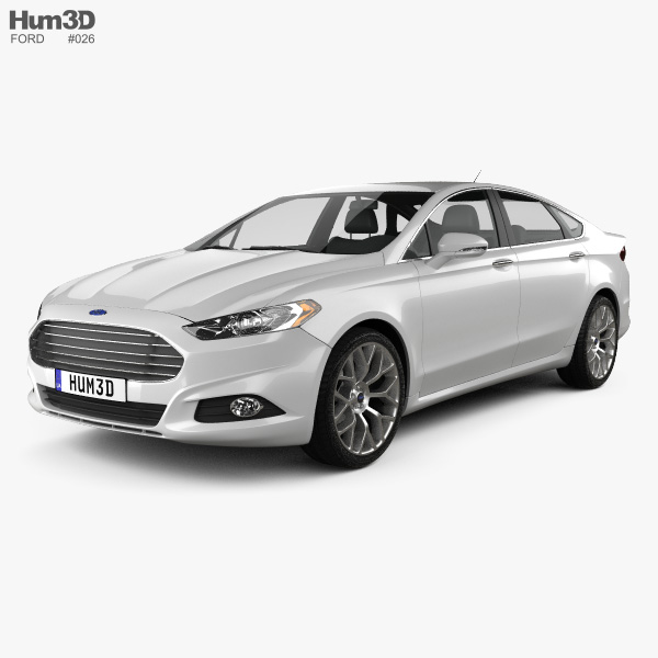 Ford Fusion (Mondeo) 2013 3D-Modell
