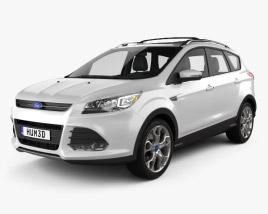 Ford Escape (Kuga) 2013 3D model