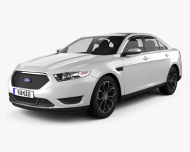 3D model of Ford Taurus SHO 2013