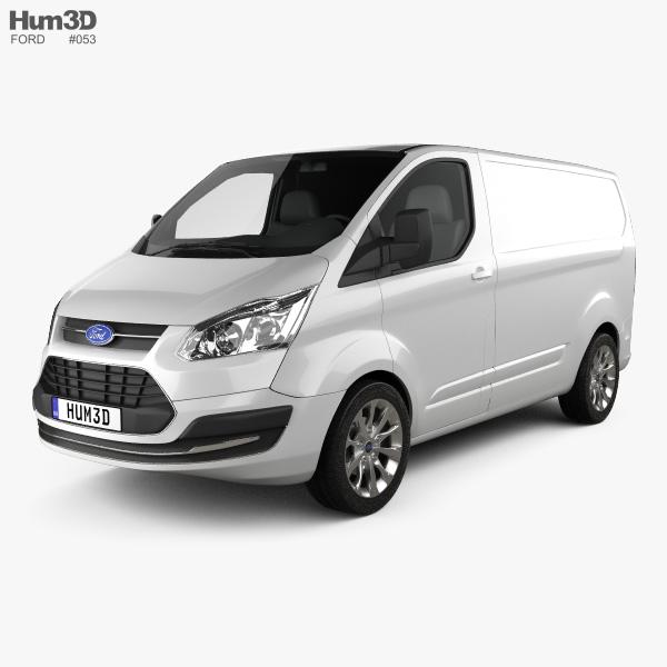 Ford Transit Custom SWB 2012 3D-Modell