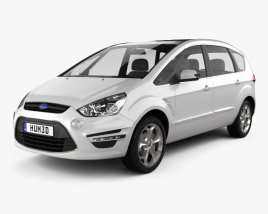 3D model of Ford S-Max 2012