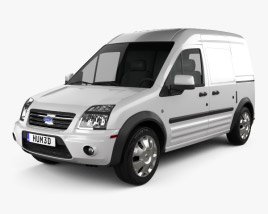 3D model of Ford Transit Connect LWB 2012