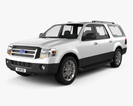 3D model of Ford Expedition 2012