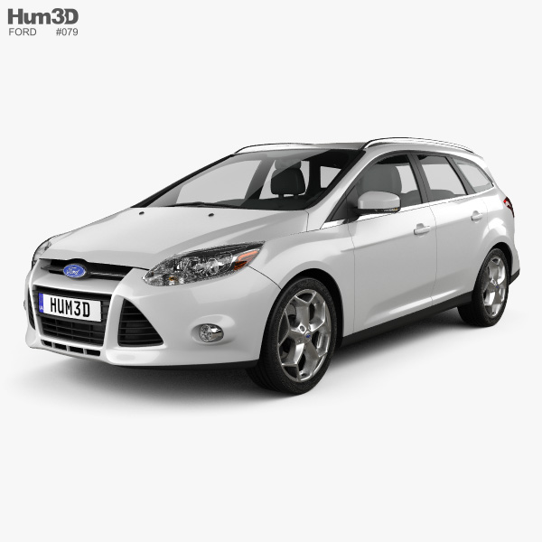 Ford Focus Wagon 2012 3D model