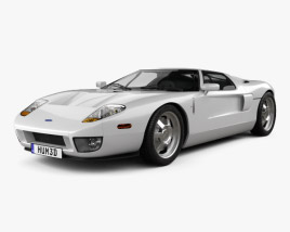 3D model of Ford GT 2006