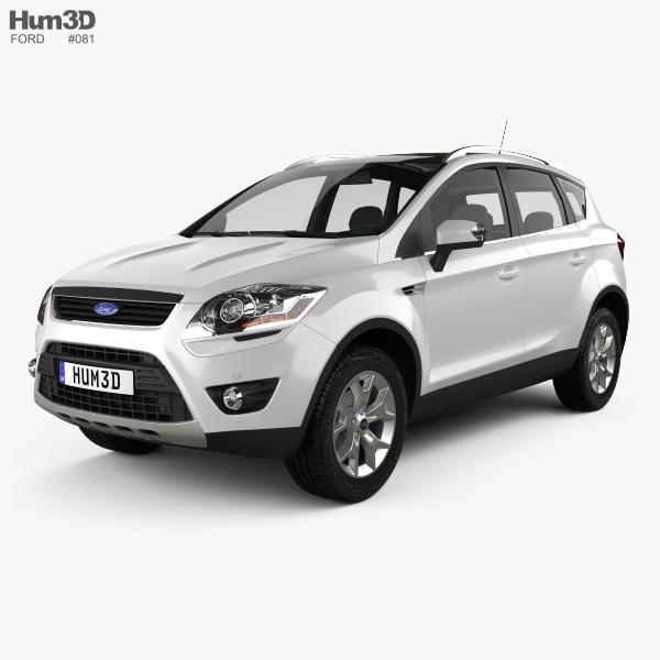 3D model of Ford Kuga 2012