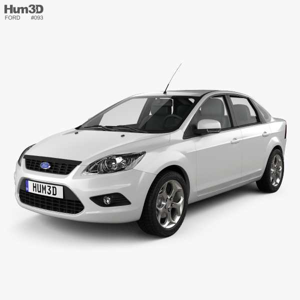 Ford Focus sedan 2008 3D model