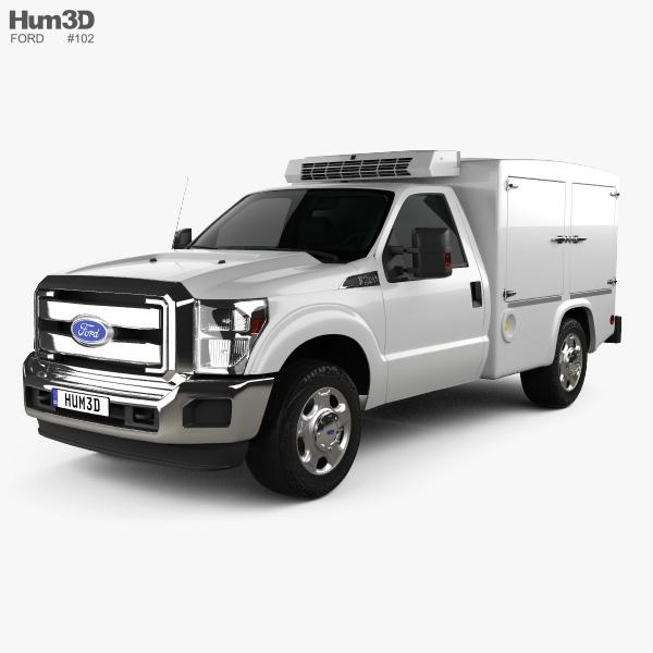 Ford Super Duty 8 Series 2011 3D model
