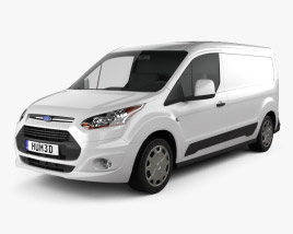 3D model of Ford Transit Connect 2014