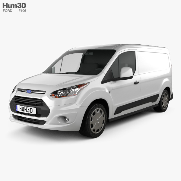 Ford Transit Connect 2014 3D model